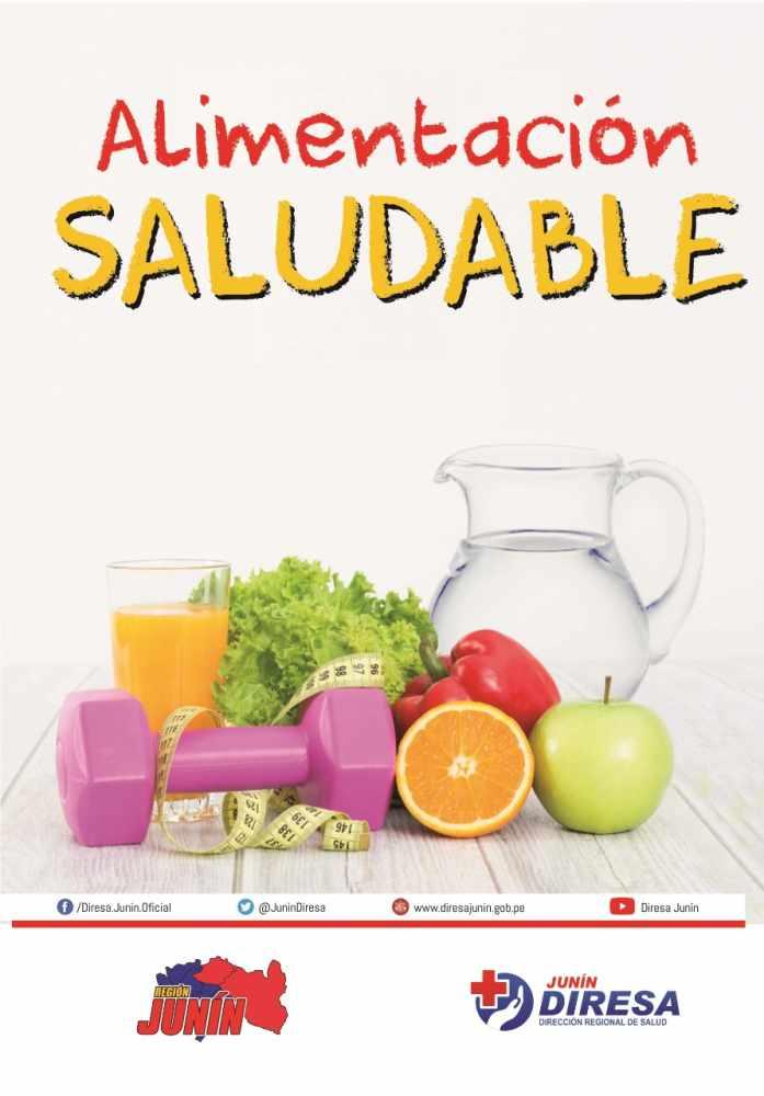 16 De Octubre Dia Mundial De Una Alimentacion Saludable Diresa Junin Direccion Regional De Salud De Junin 2020